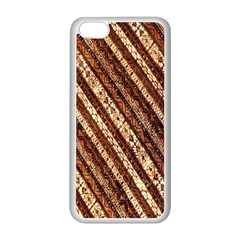 Udan Liris Batik Pattern Apple Iphone 5c Seamless Case (white)