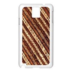 Udan Liris Batik Pattern Samsung Galaxy Note 3 N9005 Case (white)