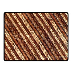 Udan Liris Batik Pattern Double Sided Fleece Blanket (Small)
