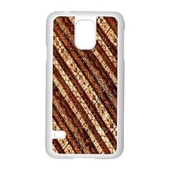 Udan Liris Batik Pattern Samsung Galaxy S5 Case (white)