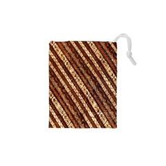 Udan Liris Batik Pattern Drawstring Pouches (XS)