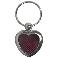 Star Patterns Key Chains (heart)