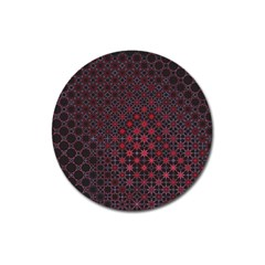 Star Patterns Magnet 3  (round)