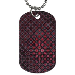 Star Patterns Dog Tag (two Sides)