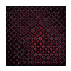 Star Patterns Face Towel