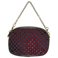 Star Patterns Chain Purses (one Side)