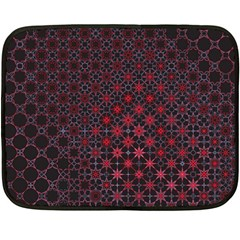 Star Patterns Double Sided Fleece Blanket (mini)