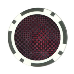 Star Patterns Poker Chip Card Guard (10 Pack)