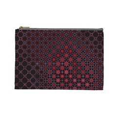 Star Patterns Cosmetic Bag (large)