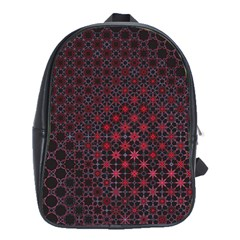Star Patterns School Bags(large)