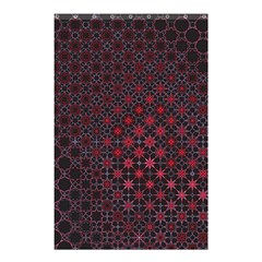 Star Patterns Shower Curtain 48  X 72  (small)