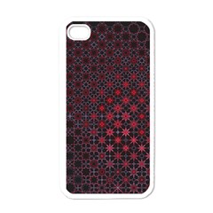 Star Patterns Apple iPhone 4 Case (White)