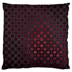 Star Patterns Large Cushion Case (two Sides)