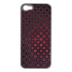 Star Patterns Apple Iphone 5 Case (silver)