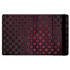 Star Patterns Apple iPad 2 Flip Case