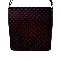 Star Patterns Flap Messenger Bag (l)