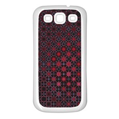 Star Patterns Samsung Galaxy S3 Back Case (white)