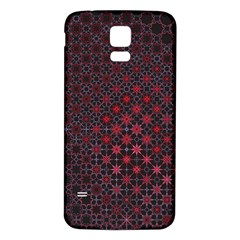 Star Patterns Samsung Galaxy S5 Back Case (White)