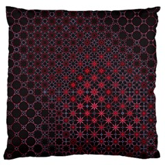 Star Patterns Large Flano Cushion Case (one Side)