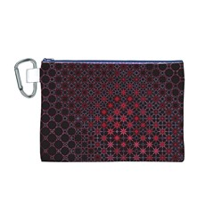 Star Patterns Canvas Cosmetic Bag (m)