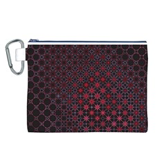 Star Patterns Canvas Cosmetic Bag (l)