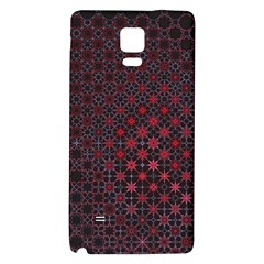 Star Patterns Galaxy Note 4 Back Case