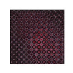 Star Patterns Small Satin Scarf (square)