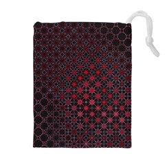 Star Patterns Drawstring Pouches (extra Large)