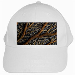 Trees Forests Pattern White Cap