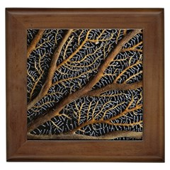 Trees Forests Pattern Framed Tiles