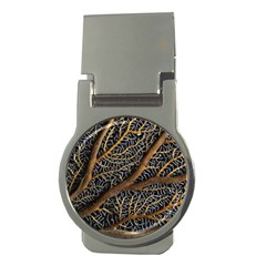 Trees Forests Pattern Money Clips (Round)