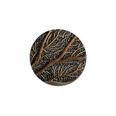 Trees Forests Pattern Golf Ball Marker