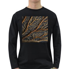 Trees Forests Pattern Long Sleeve Dark T Shirts