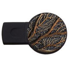 Trees Forests Pattern Usb Flash Drive Round (4 Gb)