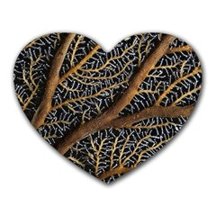 Trees Forests Pattern Heart Mousepads