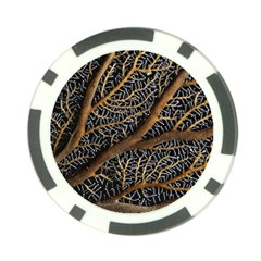 Trees Forests Pattern Poker Chip Card Guard
