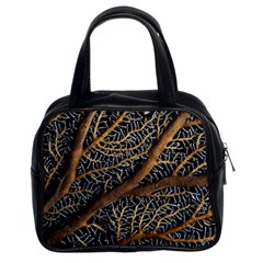 Trees Forests Pattern Classic Handbags (2 Sides)