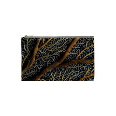 Trees Forests Pattern Cosmetic Bag (small)