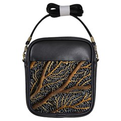 Trees Forests Pattern Girls Sling Bags