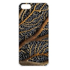 Trees Forests Pattern Apple Iphone 5 Seamless Case (white)