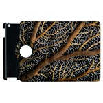 Trees Forests Pattern Apple iPad 3/4 Flip 360 Case Front
