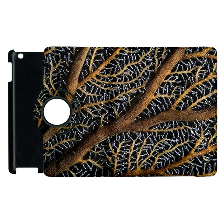 Trees Forests Pattern Apple iPad 3/4 Flip 360 Case