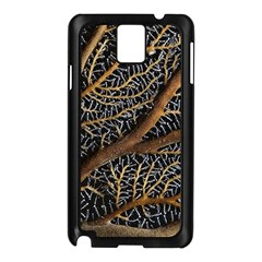 Trees Forests Pattern Samsung Galaxy Note 3 N9005 Case (black)