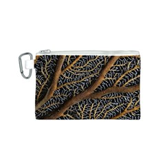 Trees Forests Pattern Canvas Cosmetic Bag (s)