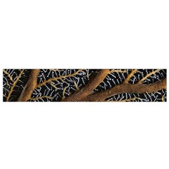 Trees Forests Pattern Flano Scarf (Small)