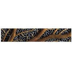 Trees Forests Pattern Flano Scarf (large)