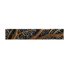 Trees Forests Pattern Flano Scarf (mini)