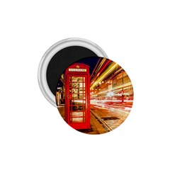 Telephone Box London Night 1 75  Magnets