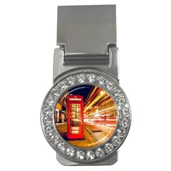 Telephone Box London Night Money Clips (cz)