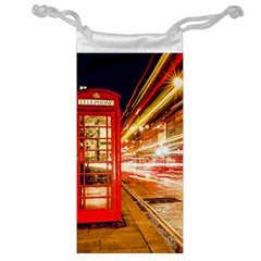 Telephone Box London Night Jewelry Bag